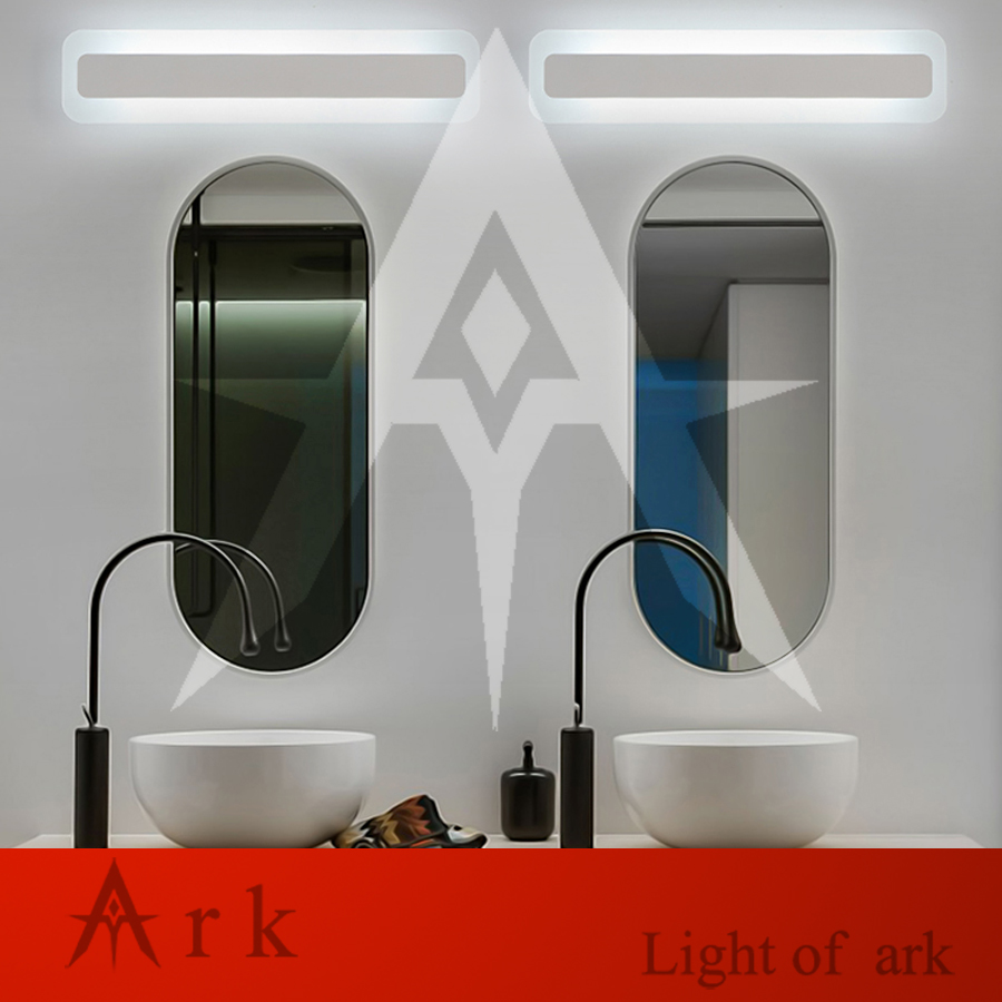 ark light 52cm LED 18W LED Acrylic Wall Lamp Bathroom Led Mirror Lamp Bathroom Aisle Living Room Waterproof Anti-fog AC 80-265V ark light 40cm bow tie 14w acrylic wall lamp bathroom led mirror lamp bathroom aisle living room waterproof anti fog ac 80 265v
