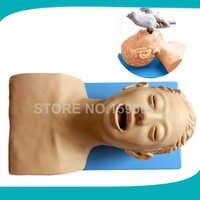 Elektronische Intubation Simulator Modell, erwachsene Oral und Nasale Intubation Kopf Trainer