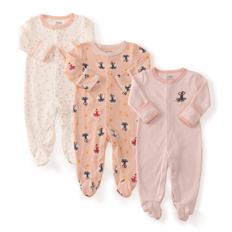 3pcs newborn baby girl clothes cotton baby rompers fashion. Black Bedroom Furniture Sets. Home Design Ideas