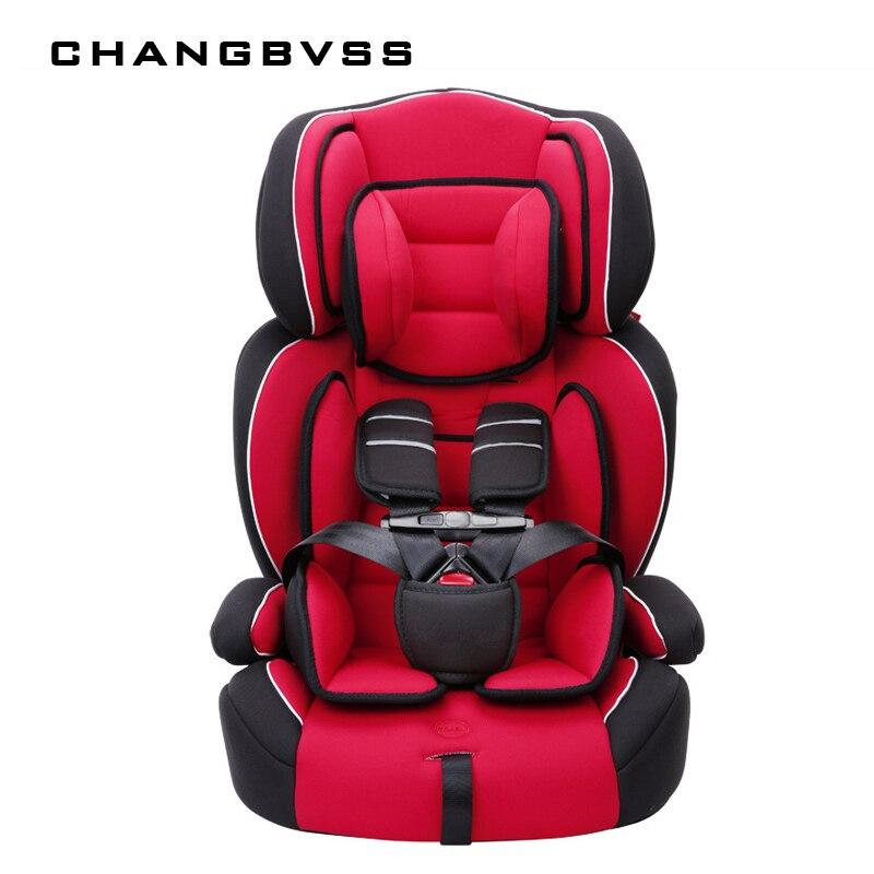Asiento grueso Cojín para Sillas de niños en el coche nueva llegada 9M 912y niños seguridad asientos de coche Universal bebé asiento de coche portátil