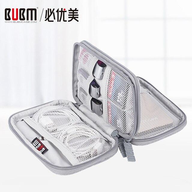 Cubierta de la caja del disco duro externo BUBM portátil 2,5 '', 2,5 pulgadas Disco Duro HDD caja de protección electrónica organizador de viaje/bolsa de Cable