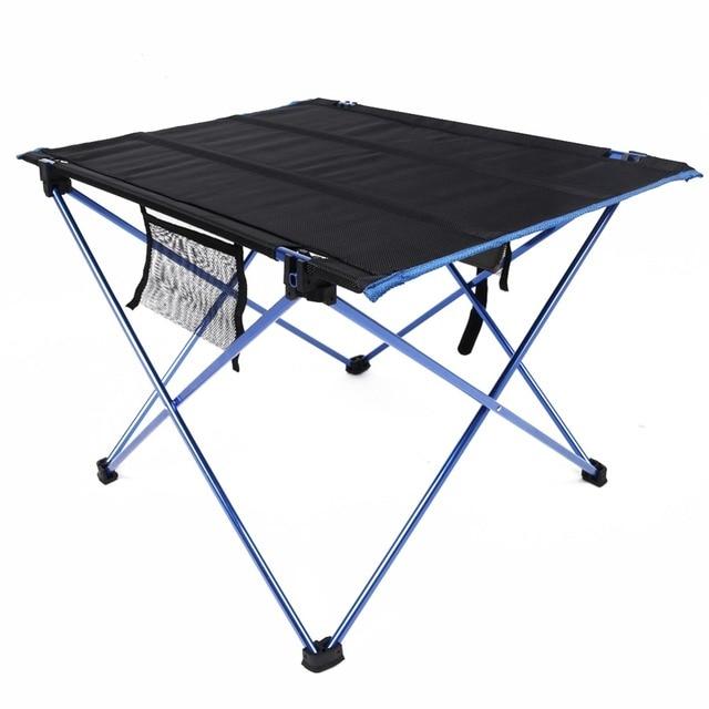 portable foldable table aluminium alloy ultralight camping outdoor