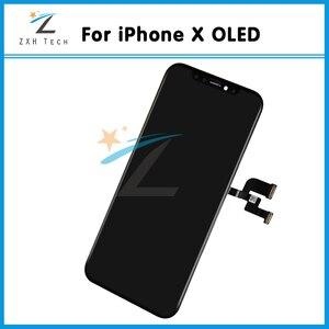 Image 5 - Grade AAA + + OEM OLED pour iPhone X XR XS LCD écran de remplacement lentille de remplacement alabla avec numériseur tactile 3D