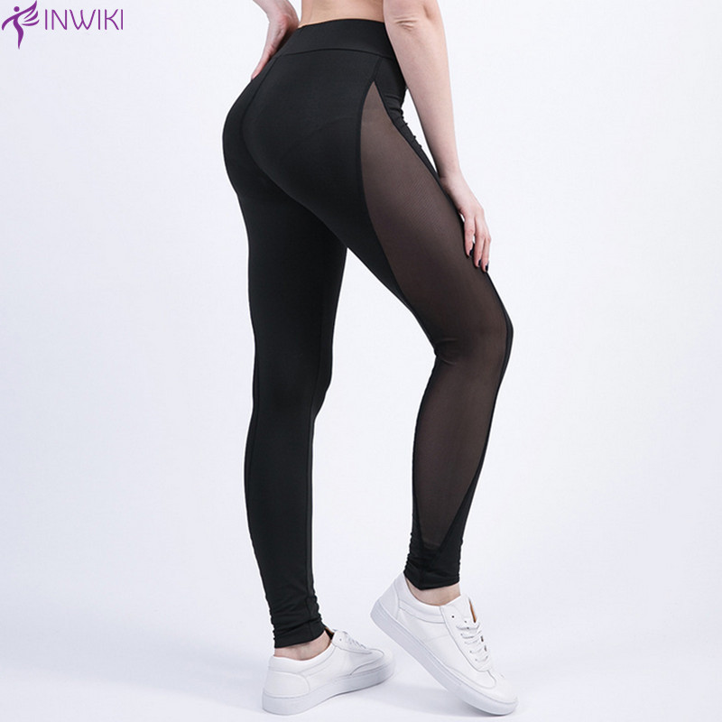 Popular Women Mesh Yoga Capris-Buy Cheap Women Mesh Yoga Capris ...