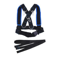 Fitness Running Training Speed Sled Shoulder Harness Sport Accessories Weight Bearing Vest Home Gym Body Building Equipment