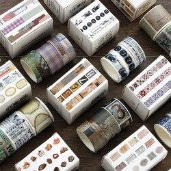 3 рулона/пакет набор декоративного скотча Васи Любовь жизнь тема бумага маскировки ленты японский васи ленты DIY Скрапбукинг стикер