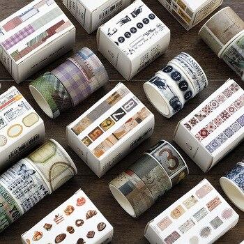 3 Rolls Washi Tape Set Love Life Theme Paper Masking Tapes Japanese Washi Tape DIY Scrapbooking Sticker Office Adhesive Tape