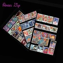 50 шт./лот, Аэрокосмическое пространство неиспользованные почтовые марки с почтовой маркой, хорошее состояние коллекционный штамп, без повтора
