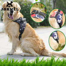 JORMEL High Quality Explosion - proof Breathable Breast Strap Harnesses Ventilation Pet For Medium large Dogs