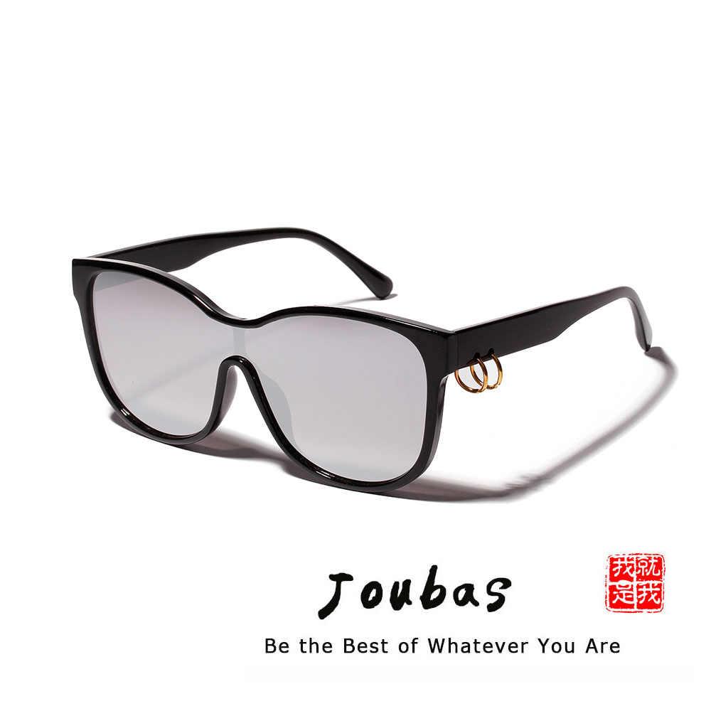 Joubas Cateye Óculos De Sol Das Mulheres/Homens 2019 Transparente de Grandes Dimensões Óculos de Sol Big Quadro Anel Trendy Tons Frescos 90 s Marca projeto 107