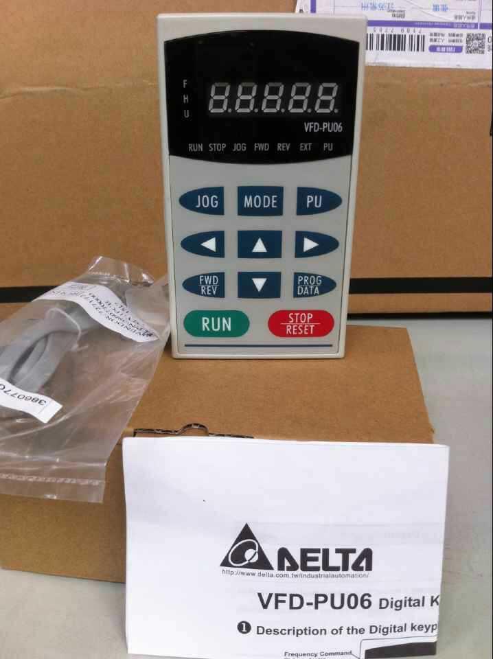 Inverter operation panel  VFD-PU06 new original inverter 7200ma 7200gs operation panel jnep 31 v jnep 34