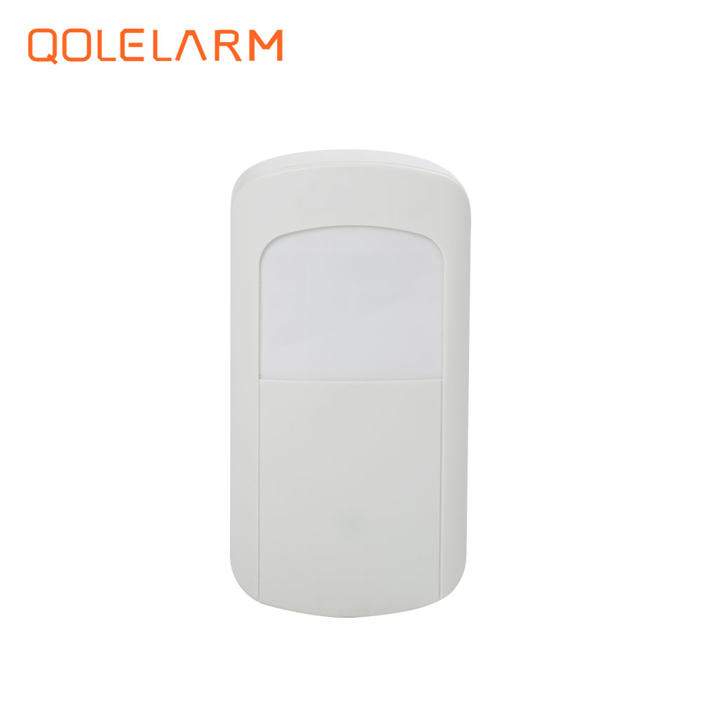 433mhz mini wireless pir infrared detector for burglar alarm long distance detection motion sensor for wifi burglar alarm system цена и фото
