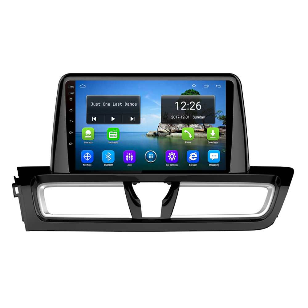 Android 4G LTE HD 1080P car MP3 MP4 Music 4 core 2GB DDR3 map front camera excellent bluetooth for KIa cerato 2018-2019 9inch