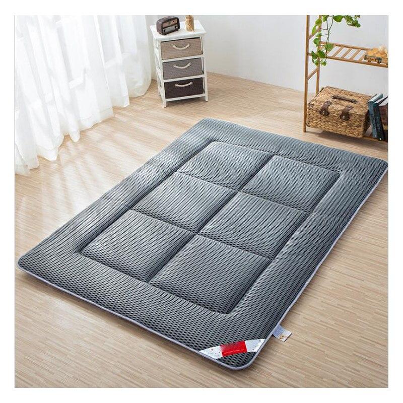 Estate traspirante materasso Sleeping mat antiscivolo letto pieghevole pinzette Estate spugna pad Morbido e comodo di Buona qualità