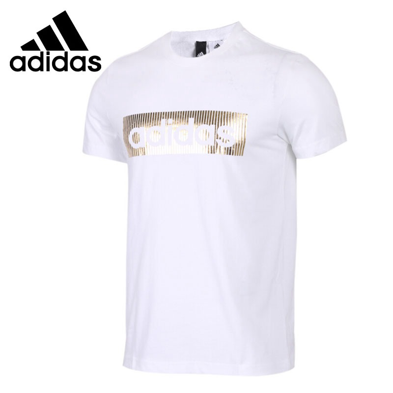 Original New Arrival  Adidas  ISC SS LNR FOIL Men's T-shirts short sleeve Sportswear