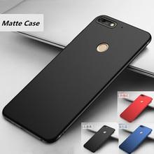For Huawei Y9 2018 Y6 Y5 2018 Case Luxury Soft TPU Back Cover for Huawei Y7 Prime 2018 Cases For Huawei Y6 prime2018 Cover