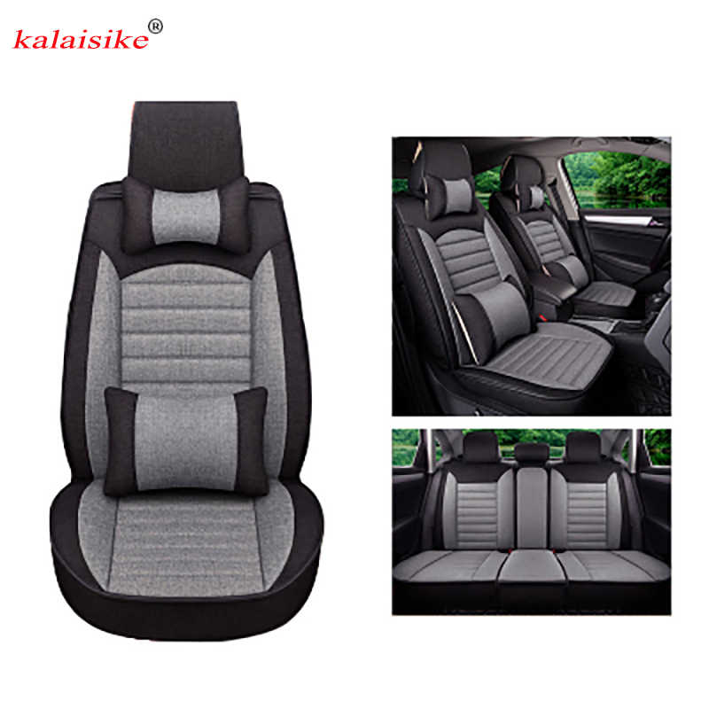 Linho tampa de Assento Do Carro Universal para DS Kalaisike todos os modelos DS4 DS DS3 DS5 DS4S DS6 auto acessórios do carro styling auto almofada