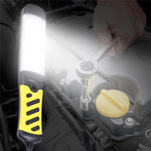 Portable LED Emergency Safety Work Light 80 LED Beads Flashlight Magnetic Car Inspection Repair Handheld Work Lamp