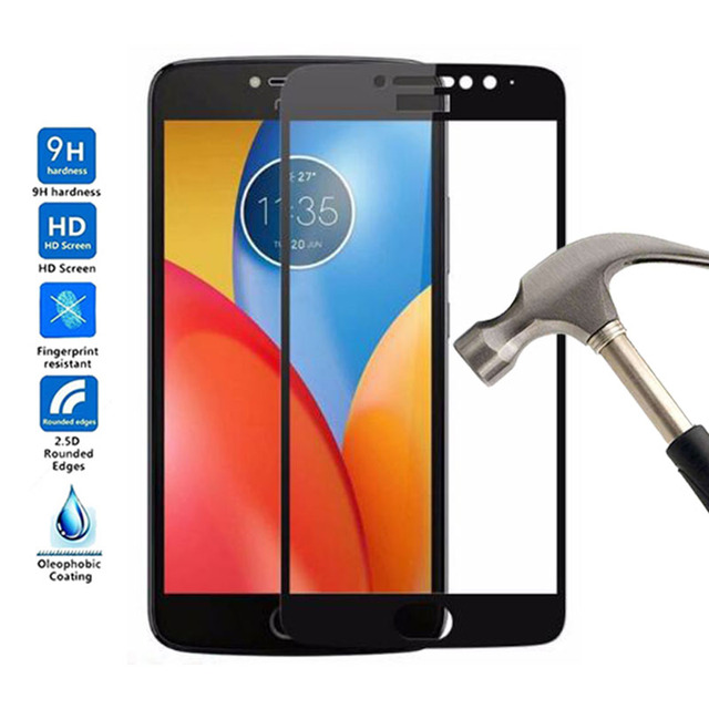 san francisco 7d780 d2423 US $1.55 48% OFF|Full Cover Tempered Glass For Moto E4 Plus Full Body Film  Glass For Motorola Moto E4 Plus Screen Protector Protective Film-in Phone  ...
