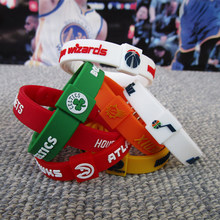 Top Quality Silicone Basketball Sport Energy Size Can Adjust Bracelet Metal Buckle Balance Wristband Power Bangle(China)