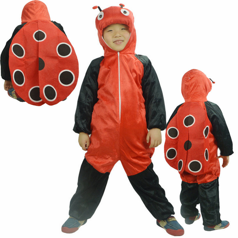 Children's Cosplay Stage Performance Costume Children's Play Stage Ladybug Bee Drama Suit