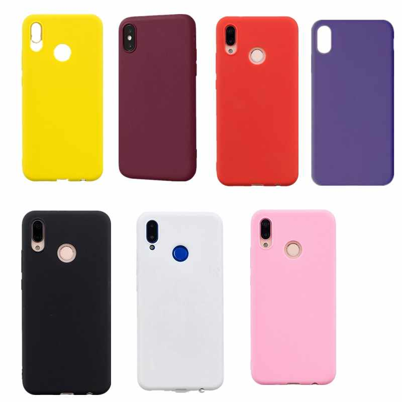Fundas transparentes de colores dulces para Iphone 7 7 Plus 6 S Plus 5 6 funda para iPhone 8 plus xs max xs xr x funda carcasa trasera Coque