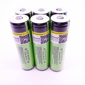 Image 3 - 8 pièces Liitokala nouveau protégé 18650 3400 mah batterie NCR18650B batterie rechargeable 3.7 V PCB achats gratuits