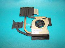 Novo Cooler Ventilador Do Dissipador Para HP Pavilion DV6-6000 DV6-6050 DV6-6090 DV6-6100 DV6-6200 DV7-6000 KSB0505HB BF51 0.4A Radiador