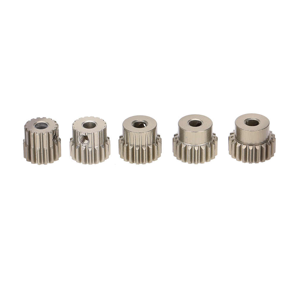 GOOLRC 48DP 3.175mm 16T 17T 18T 19T 20T Pinion Motor Gear for 1/10 RC Car Brushed Brushless Motor  Car P