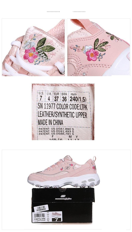 Skechers nova chegada feminina sapatos casuais moda