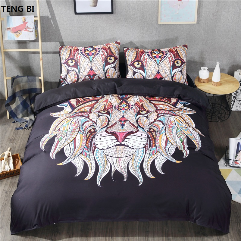2017 Hot Home Textiles Bedding Set 3pcs Digital Printing European Style Down Feather Set 3D Bedding Set King / Queen / Twin Size2017 Hot Home Textiles Bedding Set 3pcs Digital Printing European Style Down Feather Set 3D Bedding Set King / Queen / Twin Size