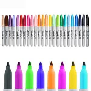 Image 3 - 24 Pcs/set New Arrival!!! Sanford Sharpie 31993 Eco friendly Fine Point 1MM Permanent Art Marker Pen