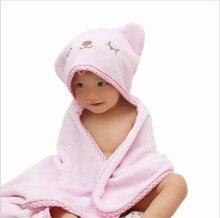 Comfortable Baby Pajamas Nightgowns Bathrobe Cute Animal Cartoon Babies Blanket Kids Hooded Bathrobe Toddler Baby Bath Towel