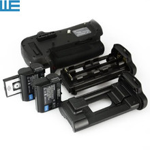 MB-D12 Battery Grip with IR Remote Control + 2X EN-EL15 Batteries for Nikon D800 D810 Digital SLR Cameras.