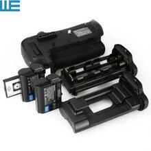 MB-D12 Батарейная ручка с ИК-пультом дистанционного Управление+ 2X EN-EL15 батареи для Nikon D800 D810 цифровых зеркальных камер