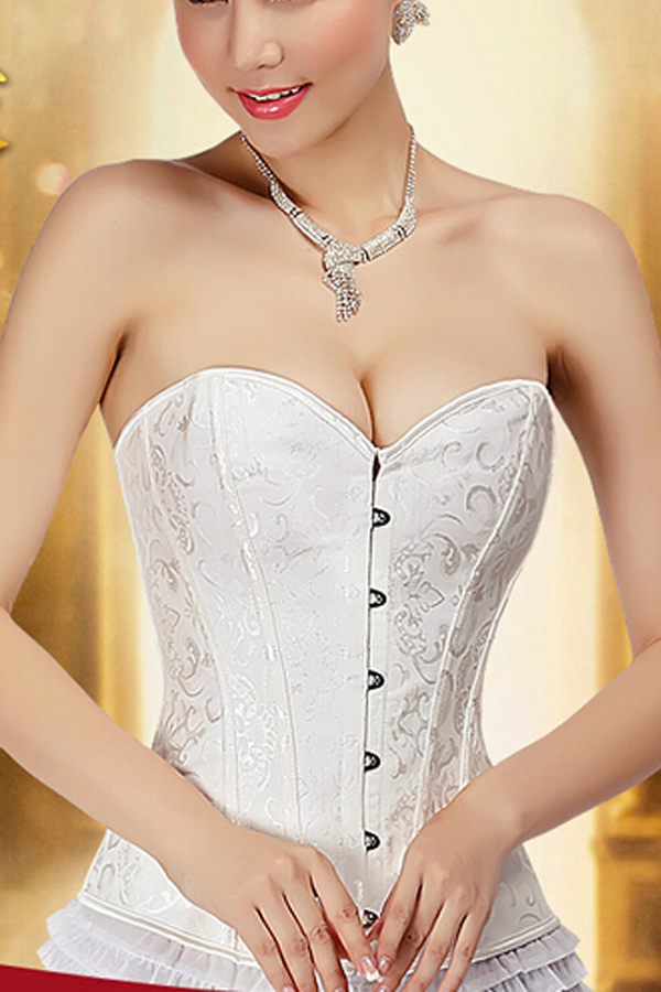 2017 New Bridal Corset For Formal Dress Plus Size Brand Strapless Bras Wedding S0035 In Bustiers Corsets From Women S Clothing