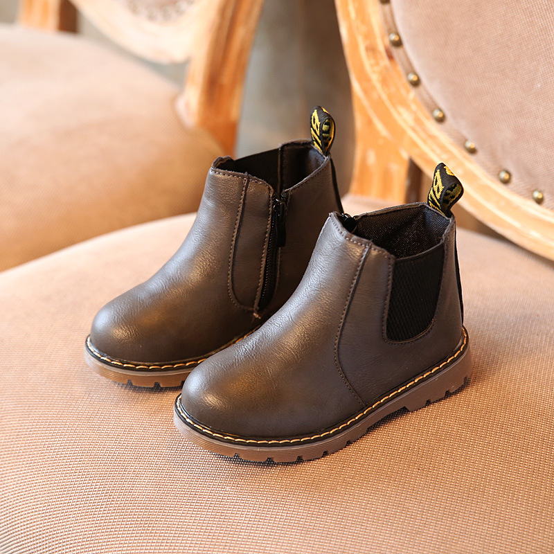 2017-New-Kids-Autumn-Baby-Boys-Oxford-Shoes-For-Children-Dress-Boots-Girls-Fashion-Martin-Boots-Toddler-Pu-Leather-Boots-Black-3
