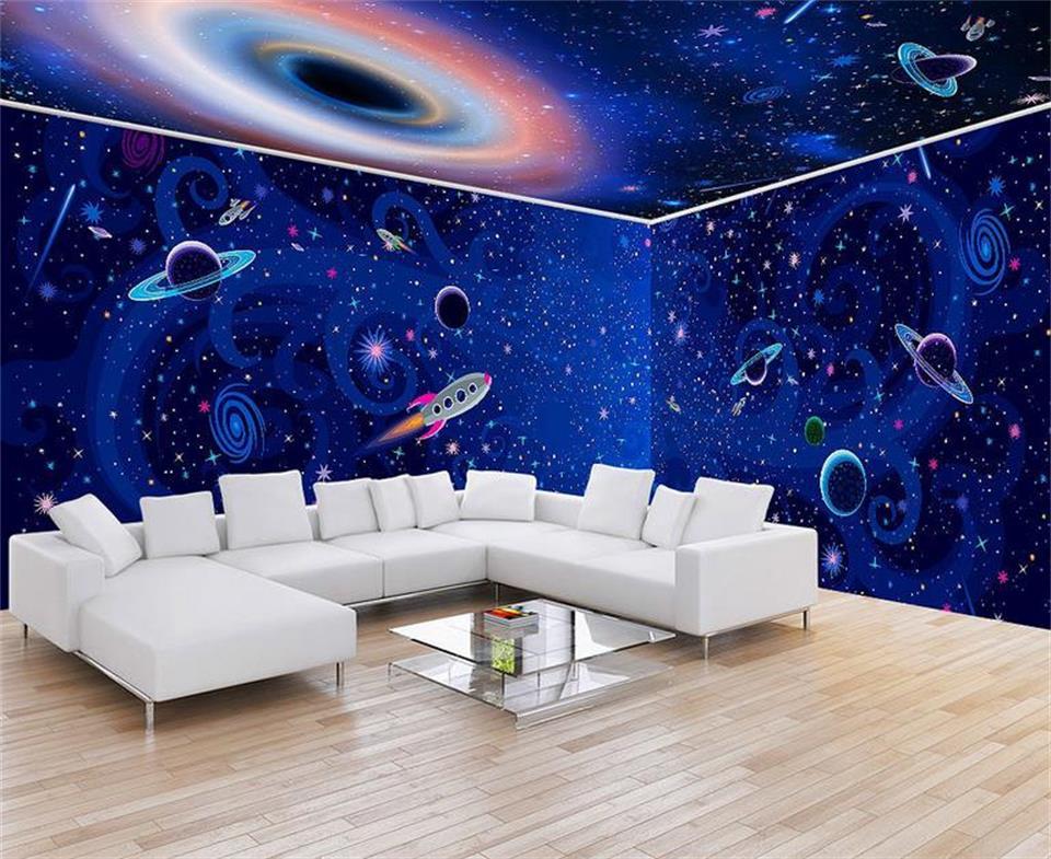 3d foto wallpaper benutzerdefinierten wandbild kinderzimmer ...