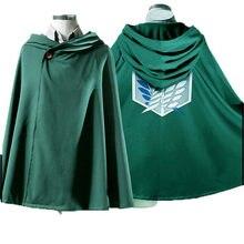 Мантия для косплея «Атака Титанов», аниме «Shingeki no Kyojin», скаутские накидки для легиона, костюмы на Хэллоуин