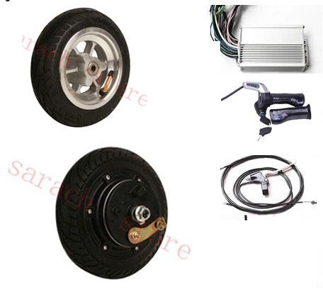 Komplet električnih skuterjev z močjo 450 W s 24