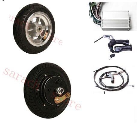 8  450W 24V drum brake electric scooter kit , hub motor for