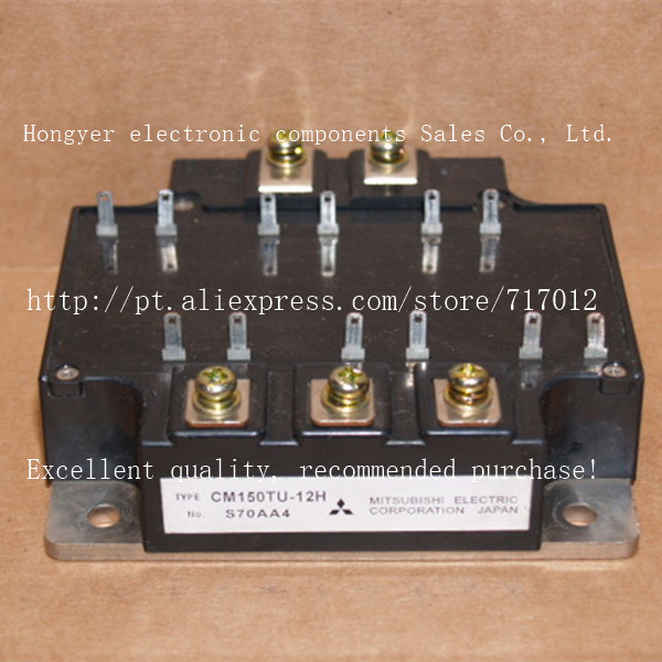 Free Shipping CM150TU-12H No New(Old components,Good quality)  IGBT module150A-600V,Can directly buy or contact the seller free shipping 1pcs lot 6mbi20gs 060 module igbt best quality
