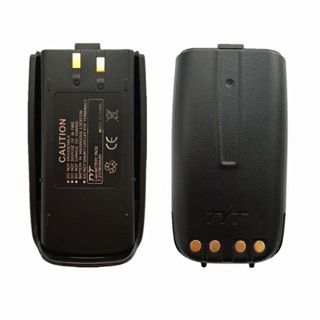 100% オリジナルtyt TH UV8000D双方向ラジオTH UV8000EリチウムイオンバッテリーパックUV 8000Dトランシーバー7.2v 3600mah 10ワットトランシーバ