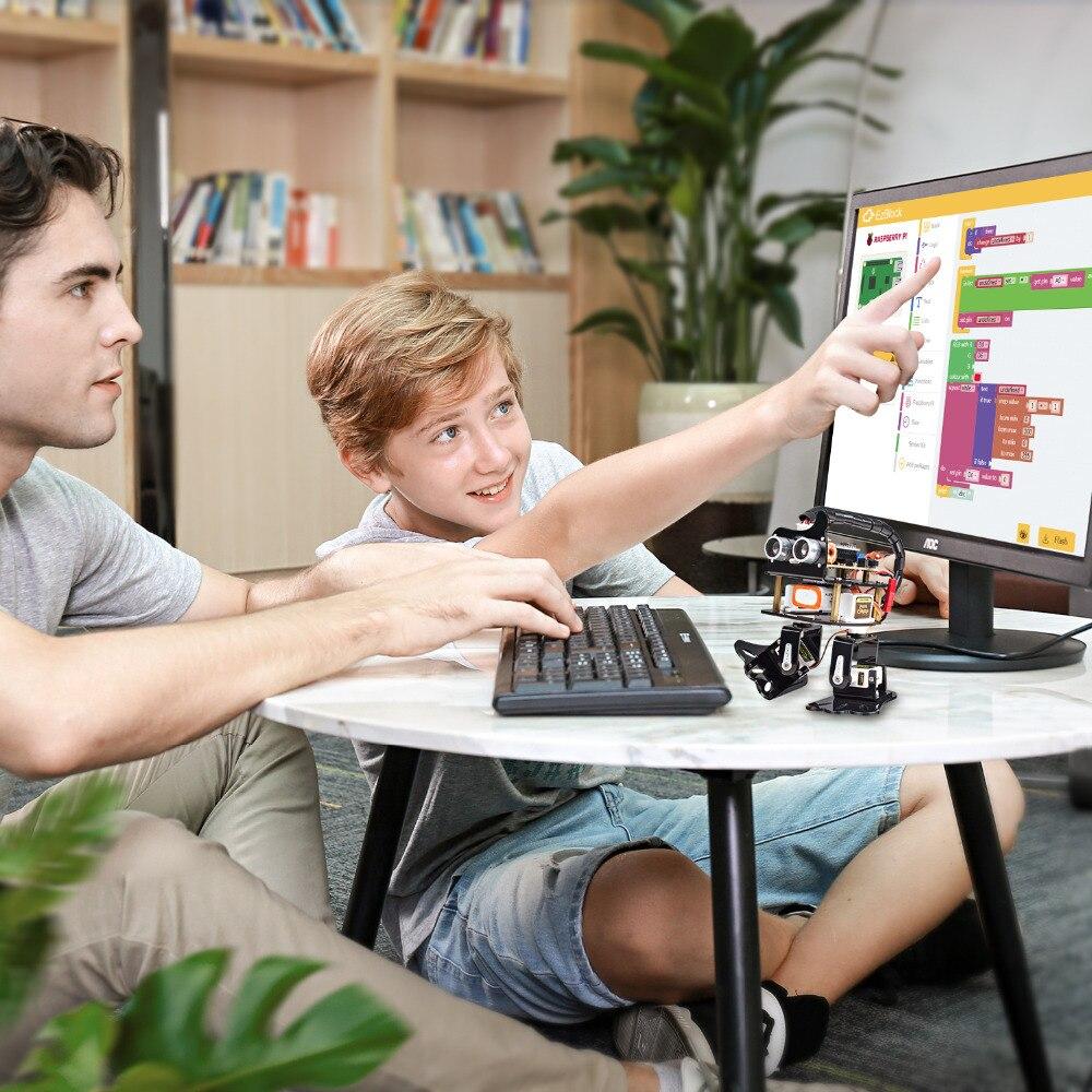 Image 5 - Sunfower DIY 4 DOF робот комплект Ленивец обучающий комплект для Arduino Nano DIY робот-in Интегральные схемы from Электронные компоненты и принадлежности on AliExpress