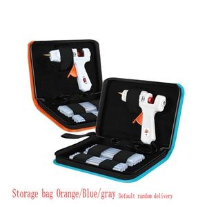 Image 3 - 40 150W Industrial Grade Copper Nozzle Hot Melt Glue Gun+20Pc High purity Glue Sticks Mini Heat Temperature Tool + Case