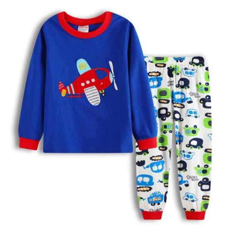 New Girls kid pajama autumn Children's pajamas for children boys home leisure girl Cartoon cute cotton Long sleeve Pyjamas LP028