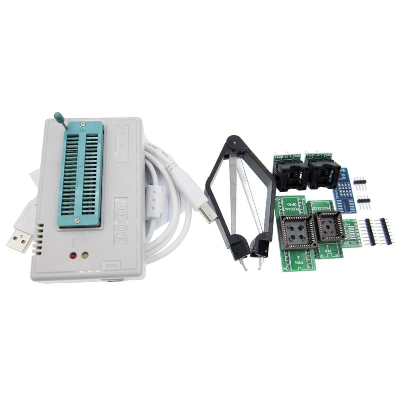Free shipping V6.0 MiniPro TL866CS Prgrammer USB Universal Programmer /Bios Programme+6 pcs Adapter free shipping msop 10 msop10 universal adapter for usb programmer ic adapter sockets