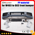 G63 front bumper fit for MB G-class W463 G350 G500 G550 G55 style W463 to G63 front bumper with all interior parts