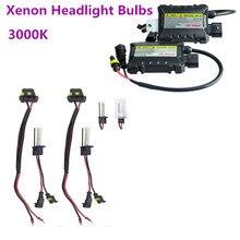 Universal  For Car 2PCS/Set 55W H1 HID Car Xenon Headlight Bulbs Ballasts Conversion KIT 3000K