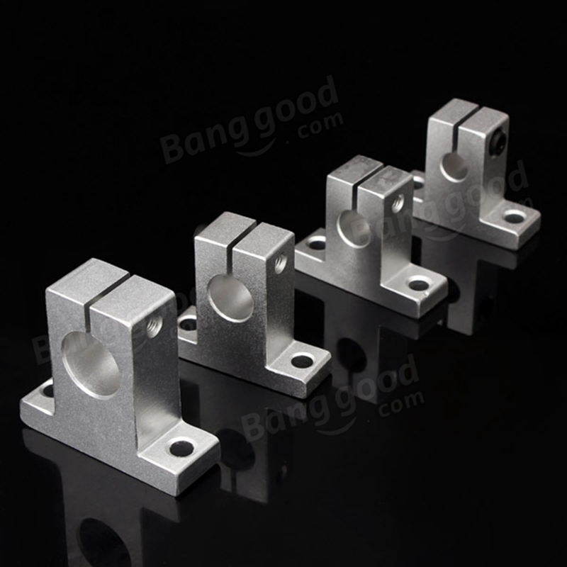 Aluminum Alloy Linear Rail Shaft SK8/10/12/16 linear rail shaft Support XYZ Table CNC for 3D printer Parts Accessories kit